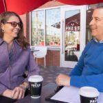 Jen Longdon meeting with constiutent