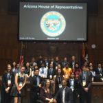 AZ Society4Science at AZ Capital hosted by Speaker Rusty Bowers and Reps Amish Shah and Jennifer Longdon - May 16, 2019 (Photo: Arizona Society4Science, @SARSEFaz)