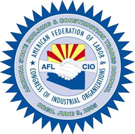 Arizona Building and Construction Trades Council (AZBTC) Logo (2020)