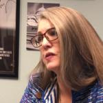 Rep. Jennifer Longdon speaking from her legislative office - 2020