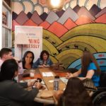 Jen Longdon meeting with constituents at Fair Trade Cafe - March 22, 2019