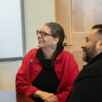 Rep. Jennifer Longdon visits Phoenix Union High School - December 5, 2019 (Source: Phoenix Union High School/PUHSD Facebook)