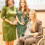 Jen Longdon with co-honorees Chris Love and Alexis Hermosillo at Emerge Arizona 15th Anniversary Celebration - Dec 15, 2019 (Photo: Emerge Arizona)