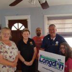 Jen Longdon with UFCW 99 supporters