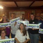 Jen Longdon with team