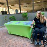Jen Longdon at Fair Trade Cafe for event - September 28, 2019