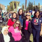 Jen Longdon at Women's March 2018