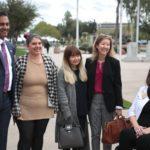 Rep. Jennifer with Rep. Amish Shah, et al at AZ Capital (Photo credit: Gage Skidmore)