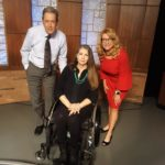 Jennifer Longdon with Dana Kennedy at Arizona PBS - September 30, 2019