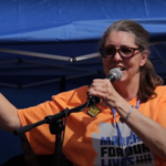 Jen Longdon at March for Lives Event